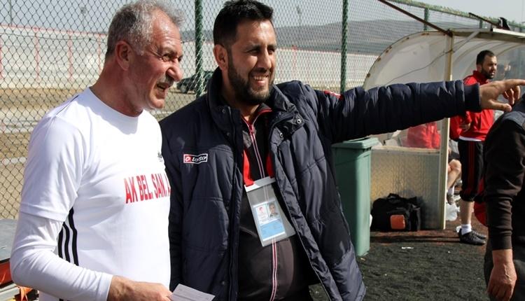 Kangal Belediye Başkanı Mehmet Öztürk sahaya indi