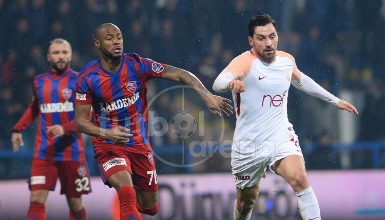 Karabük'e 7. golü atan Sinan Gümüş: