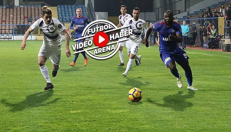 Karabükspor 0-4 Osmanlıspor maçı özeti ve golleri (İZLE)