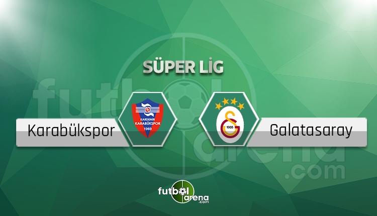 Karabükspor - Galatasaray beIN SPORTS canlı şifresiz yayın