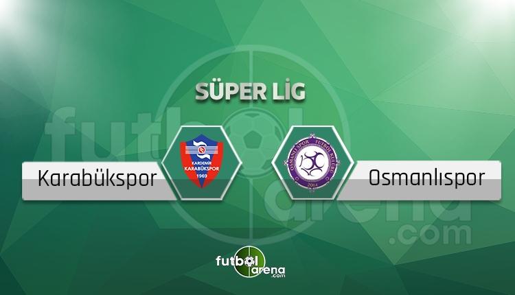 Karabükspor Osmanlıspor beIN Sports canlı ve şifresiz izle