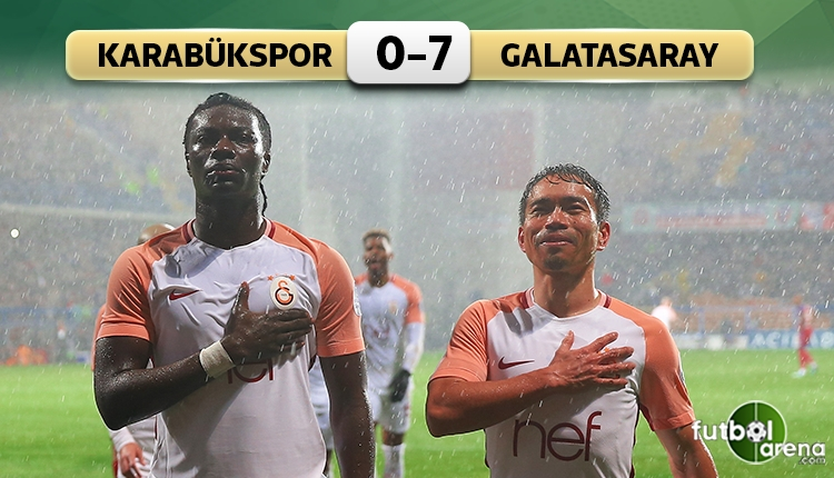 Karabük'te tarihi maç! Galatasaray gol yağdırdı (İZLE)