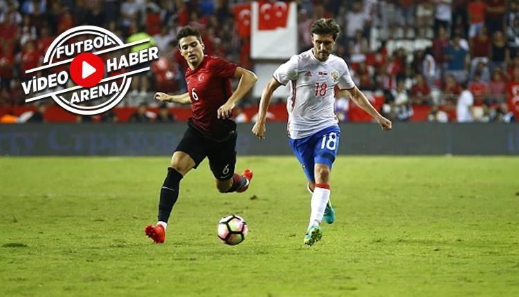 Karadağ - Türkiye maçı Okay Yokuşlu'nun golü (İZLE)