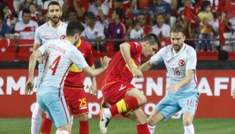 Karadağ'ın Türkiye maçı kadrosu açıklandı