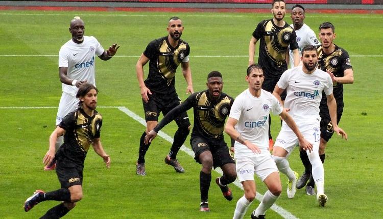 Kasımpaşa 1 - 1 Osmanlıspor maç özeti ve golleri (İZLE)