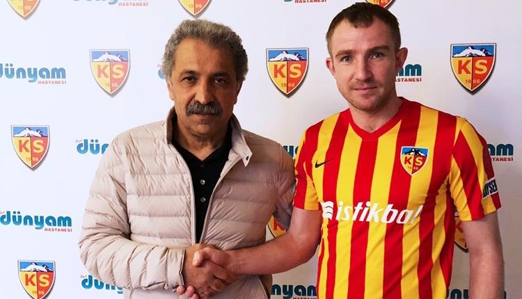 Kayserispor, Oleksandr Kucher ile sözleşme yeniledi