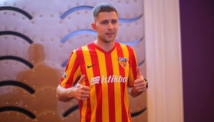 Kayserispor'da Artem Kravets ilk gollerini attı