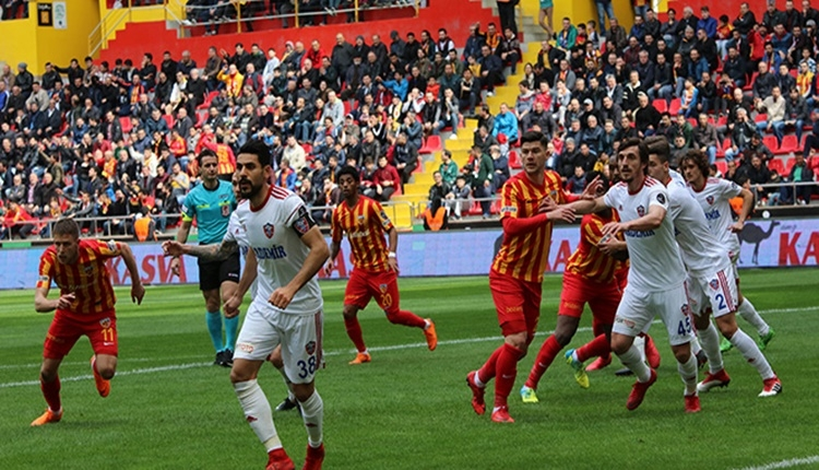 Kayserispor'da Karabükspor maçı sonrası izin zamanı