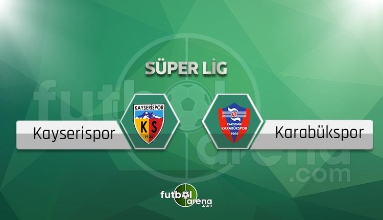 Kayserispor-Karabükspor beIN Sports canlı ve şifresiz izle
