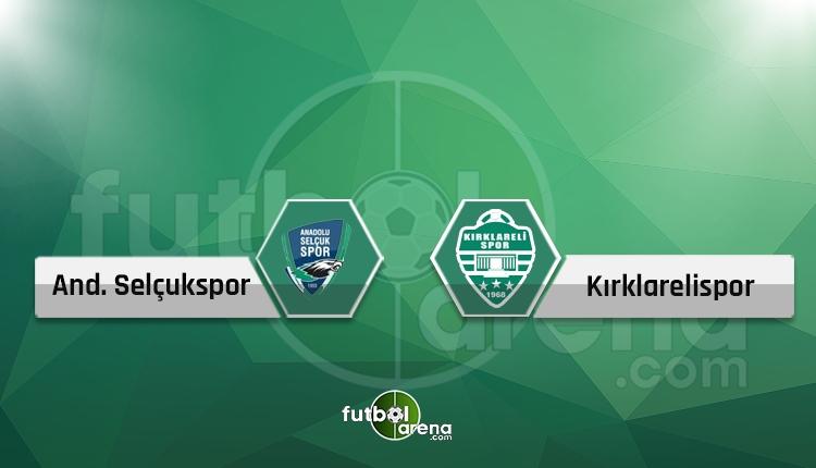 Konya Anadolu Selçukspor - Kırklarelispor canlı ve şifresiz İZLE