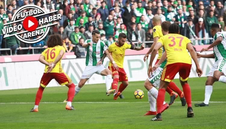 Konyaspor 0-1 Yeni Malatyaspor maçı özeti ve golü (İZLE)