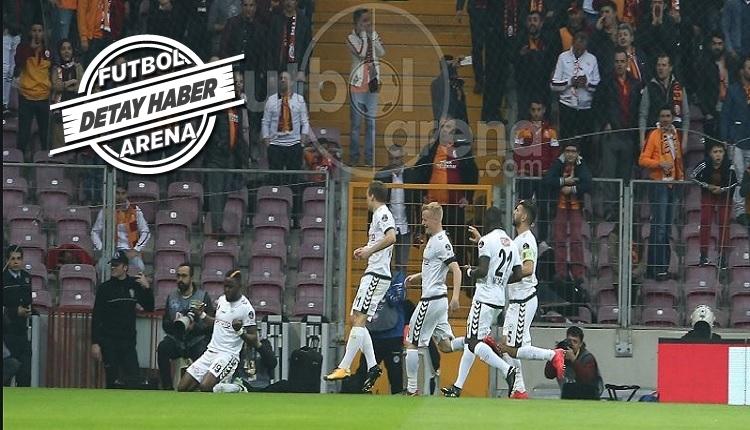 Konyaspor'un Galatasaray'a attığı gol tarihe geçti! Moke...