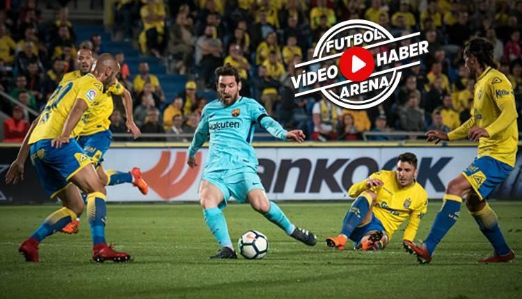 Las Palmas 1-1 Barcelona maçı özeti ve golleri (İZLE)