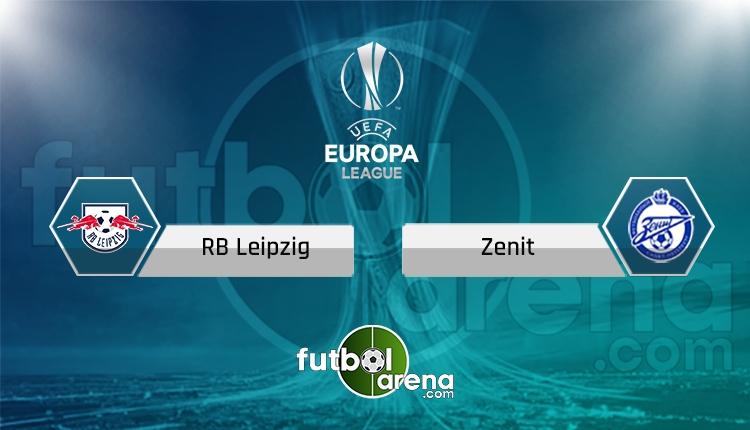 Leipzig - Zenit maçı Tivibuspor canlı ve şifresiz İZLE