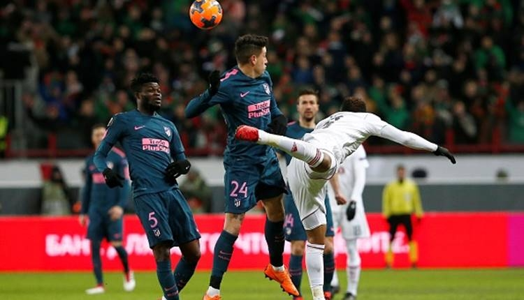 Lokomotiv Moskova 1-5 Atletico Madrid maçı özeti ve golleri (İZLE)