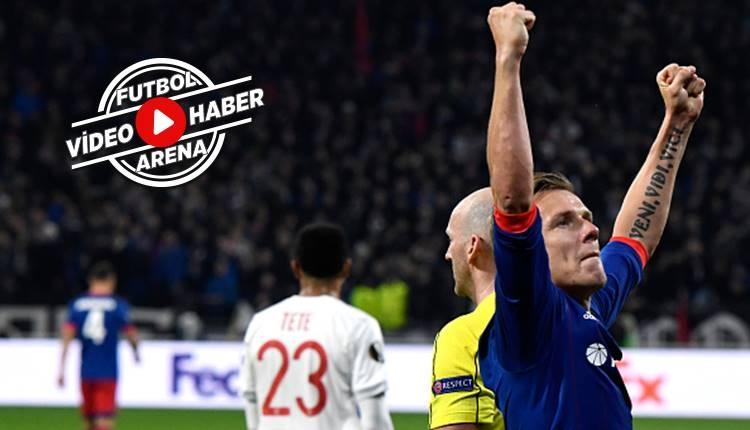 Lyon 2-3 CSKA Moskova maçı özeti ve golleri (İZLE)