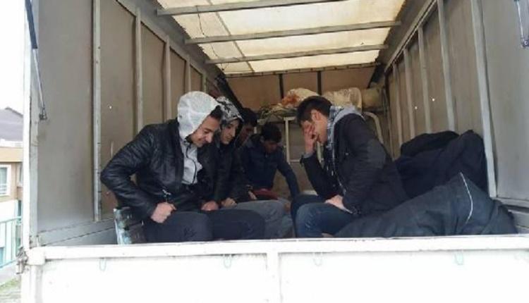 Maça kulüp başkanının kamyonetiyle gittiler