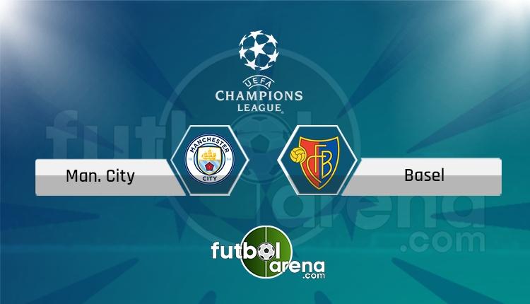 Manchester City - Basel Tivibu Spor canlı ve şifresiz izle