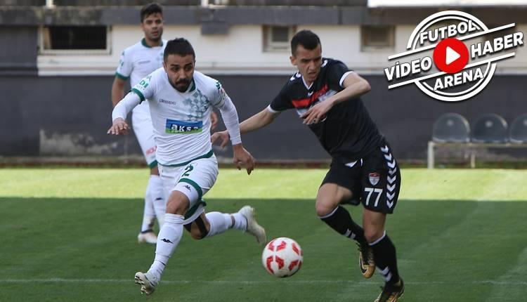 Manisaspor 0-4 Giresunspor maçı özeti ve golleri (İZLE)