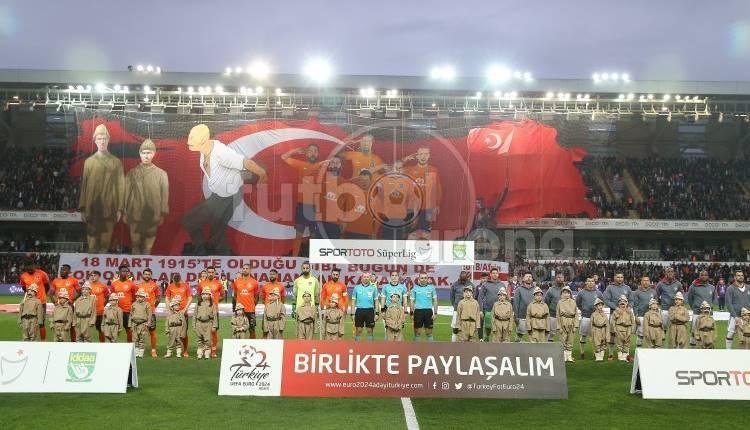 Medipol Başakşehir'in koreografisine sosyal medyadan tepki