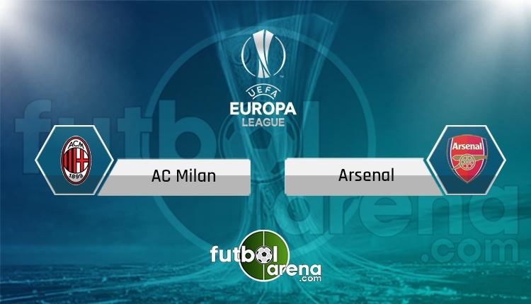 Milan - Arsenal TRT Spor canlı ve şifresiz izle