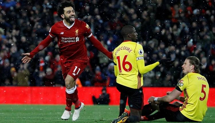 Mohamed Salah 4 gol attı! Liverpool şov yaptı (İZLE)