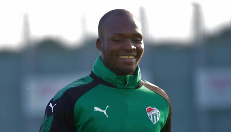 Moussa Sow sakatlığını atlattı! Bursaspor'a müjdeli haber