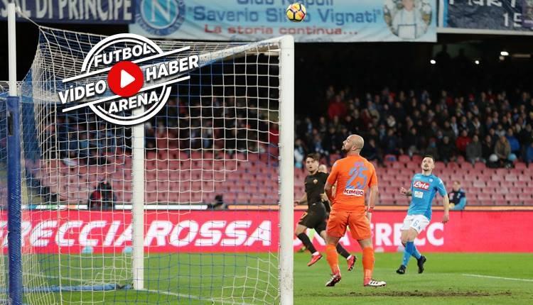 Napoli 2-4 Roma maçı özeti ve golleri (İZLE)