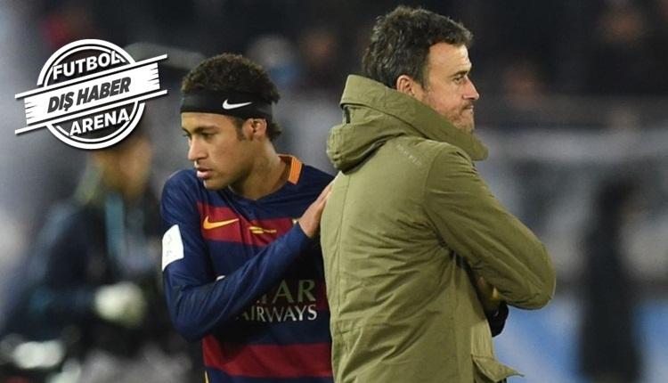 Neymar, PSG'ye istediği teknik direktörü açıkladı