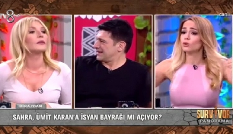Nur Tuğba Algül ve Seda Akgül arasında Survivor Panorama'da canlı yayında kavga! (Hakan Ural TV8 Survivor Panorama)
