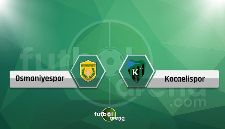 Osmaniyespor - Kocaelispor maçı TFF 3. Lig (CANLI)