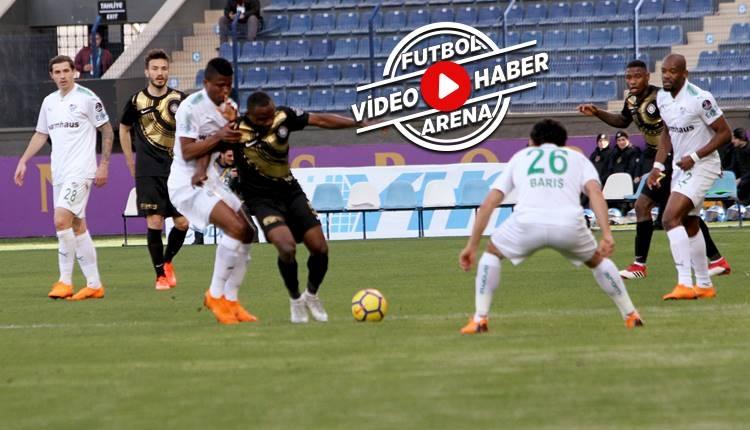 Osmanlıspor 2-1 Bursaspor maçı özeti ve golleri (İZLE)