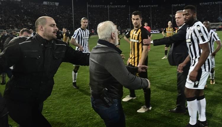 PAOK'un üyeliği askıya alındı!