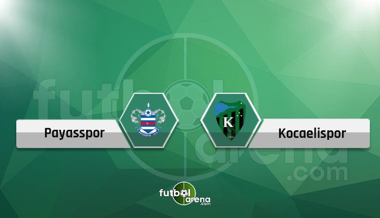 Payasspor - Kocaelispor maçı hangi kanalda? (CANLI)