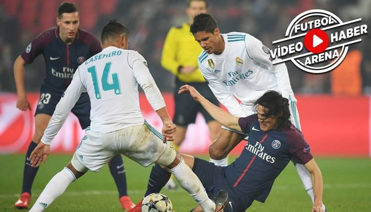 PSG 1-2 Real Madrid maçı özeti ve golleri (İZLE)