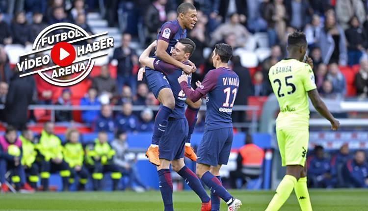 PSG 2-1 Angers maçı özeti ve golleri (İZLE)