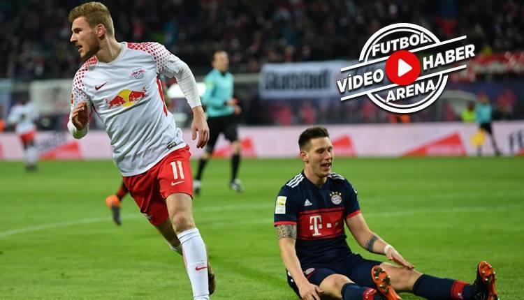 RB Leipzig 2-1 Bayern Münih maçı özeti ve golleri (İZLE)