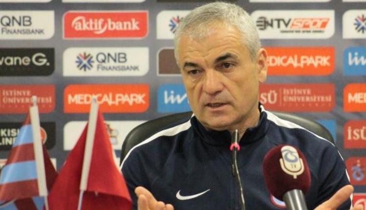 Rıza Çalımbay: ''Trabzonspor'dan daha zor takımlarda çalıştım''