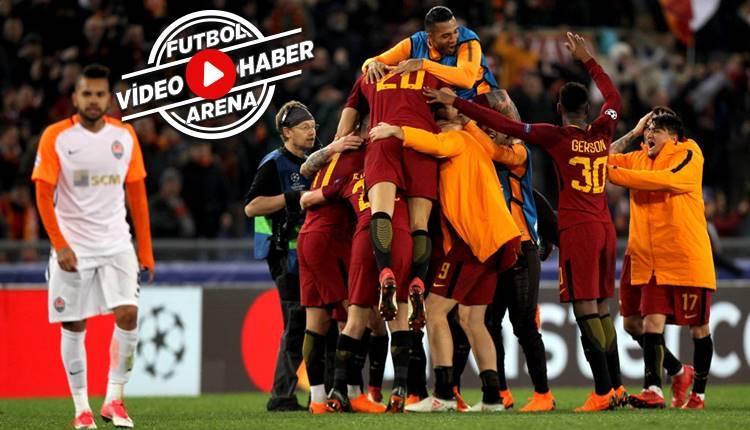 Roma 1-0 Shakhtar Donetsk maçı özeti ve golü (İZLE)