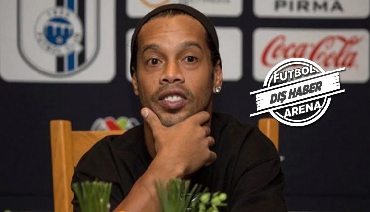 Ronaldinho herkesi şaşırttı! Siyasete giriyor