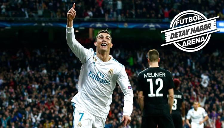 Şampiyonlar Ligi'ne Cristiano Ronaldo damgası! Üç büyükleri geçti