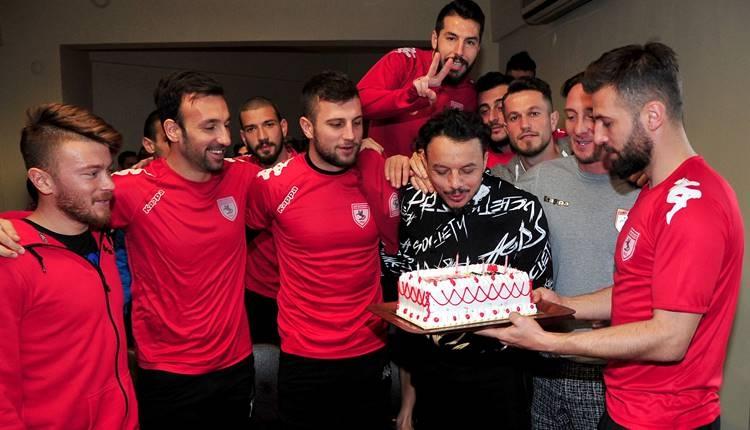 Samsunspor'da futbolcular gelecekten umutlu