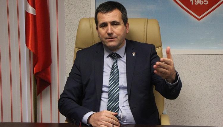 Samsunspor'un toplam borcu şehir plakasıyla eşdeğer