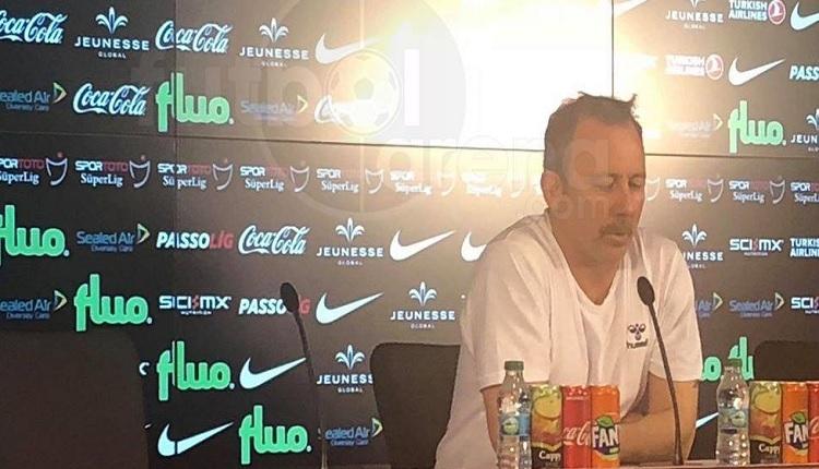 Sergen Yalçın'dan Galatasaray maçı sonrası hakeme gönderme: 'Bugün yaptığı...'