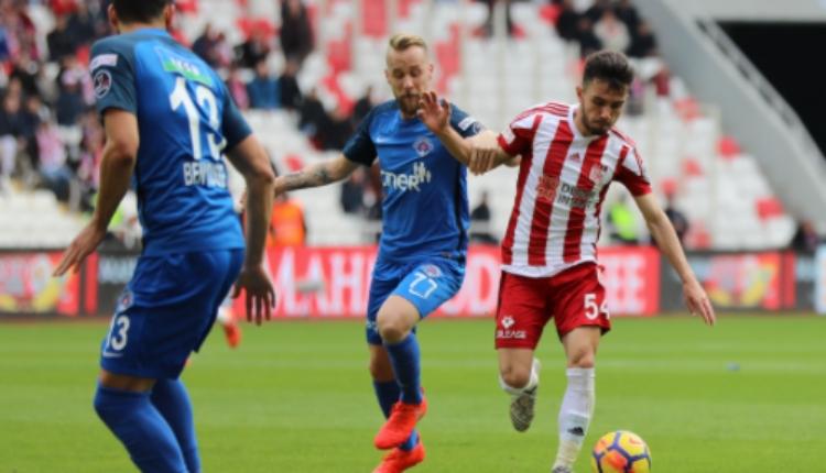 Sivasspor 2-2 Kasımpaşa maç özeti ve golleri (İZLE)