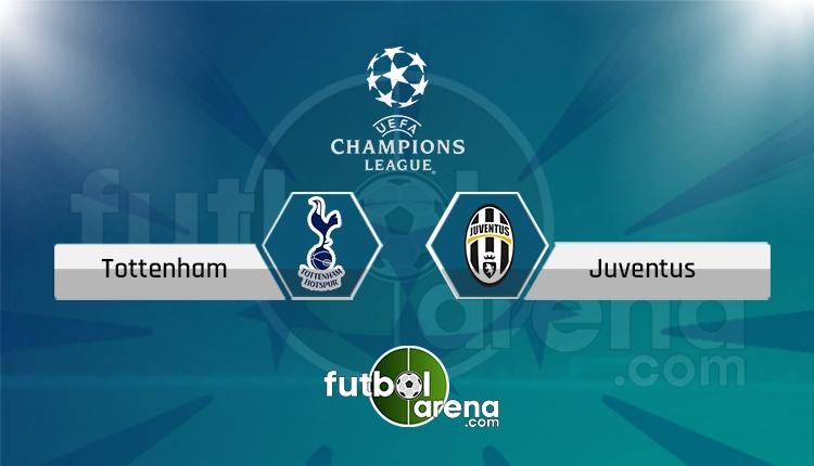 Tottenham - Juventus Tivibu Spor canlı ve şifresiz izle