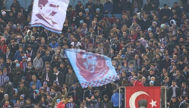 Trabzonspor taraftarı Beşiktaş maçına akın etti