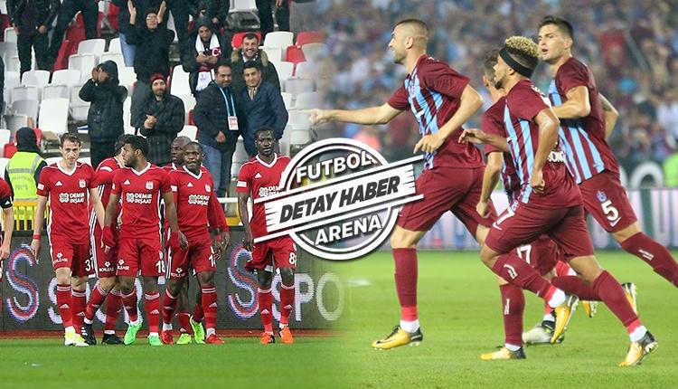 Trabzonspor ve Sivasspor mağlup durumunda pes etmiyor