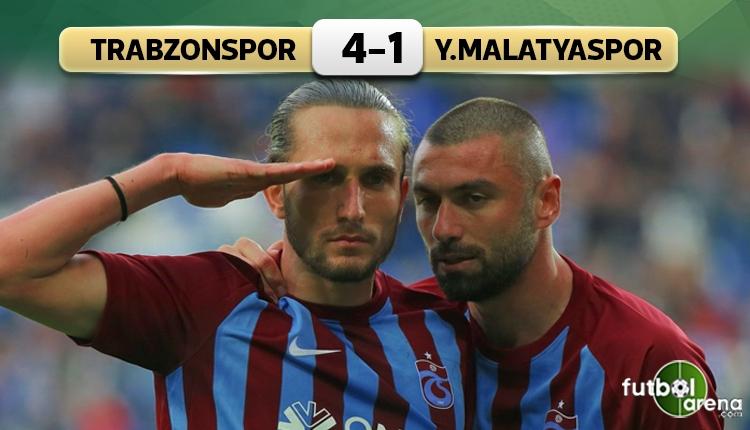 Trabzonspor, Yeni Malatyaspor'u ikinci yarıda devirdi (İZLE)