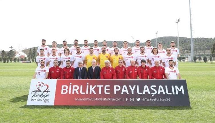 Trabzonsporlu oyuncular EURO 2024 tanıtım çekiminde
